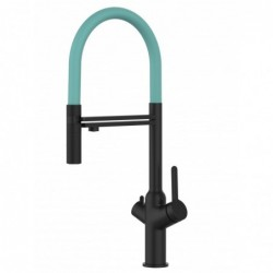 NIEDERDRUCK - for German market only! Single-lever kitchen sink mixer with folding spout only 6 cm